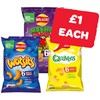 Only £1 | Monster Munch / Wotsits / Quavers | 6 Pack