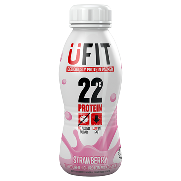 UFIT Strawberry Protein Shake | 310ml