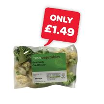 fresh Broccoli & Cauliflower | 250g