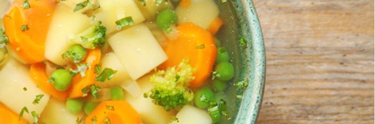 warming slow cooker soup