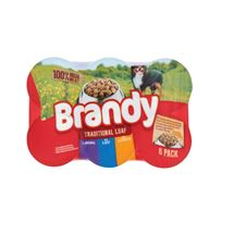 Brandy Dog Food 395g | 6 Pack