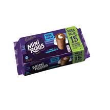 Cadbury Chocolate Mini Rolls | 15 pack