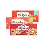 Mr Kipling Country / Bakewell / Almond / Victoria Slices | 6 Pack
