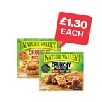 £1.30 Each | Nature Valley Crunchy Granola Bars | 5 Pack