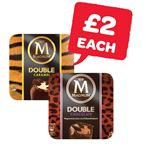 Only £2 | Magnum Double Caramel / Double Chocolate / Vegan Classic | 3 Pack